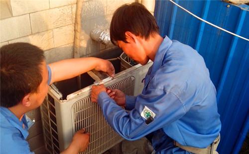 美的空调维修,恒诚维修案例图片